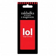 Zakładka do książki - LOL - Laugh to loud