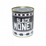Skarbonka pucha - Black money