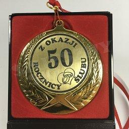 Medal W Etui Z Okazji 50 Rocznicy ślubu