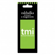 Zakładka do książki - TMI - to much information