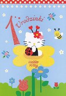 Karnet Hello Kitty - 1 urodzinki