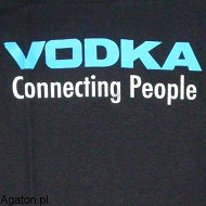 Koszulka - VODKA - connecting people